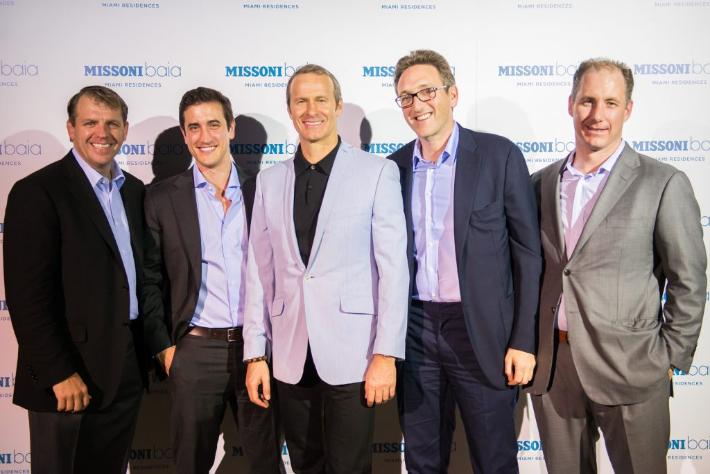 Todd Boehly, Christopher Nickersen, Vladislav Doronin, Jonathan Goldstein and Tony Minella
