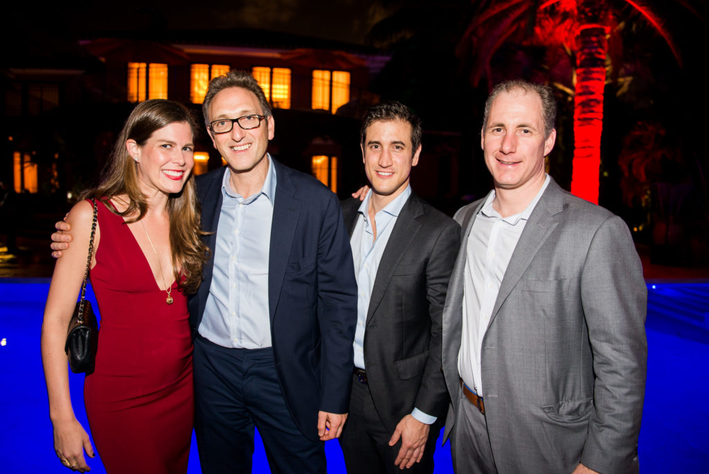 Alexie Elfmont of Cervera Real Estate, Jonathan Goldstein and Christopher Nickersen of Cain Hoy Enterprises and Tony Minella of Security Benefit