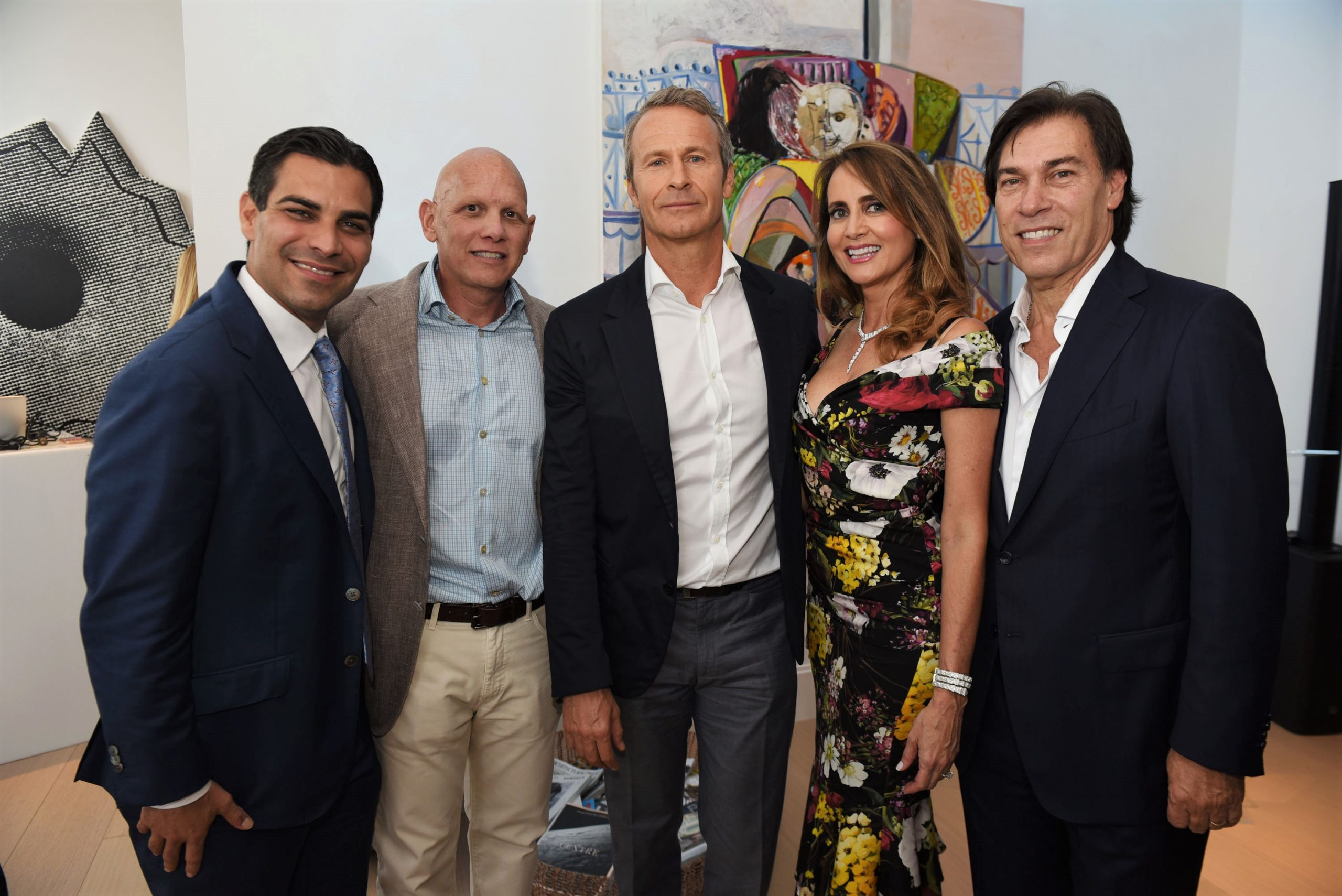 Francis Suarez, Fran Scola, Vladislav Doronin, Ana Cristina Defortuna & Edgardo Defortuna