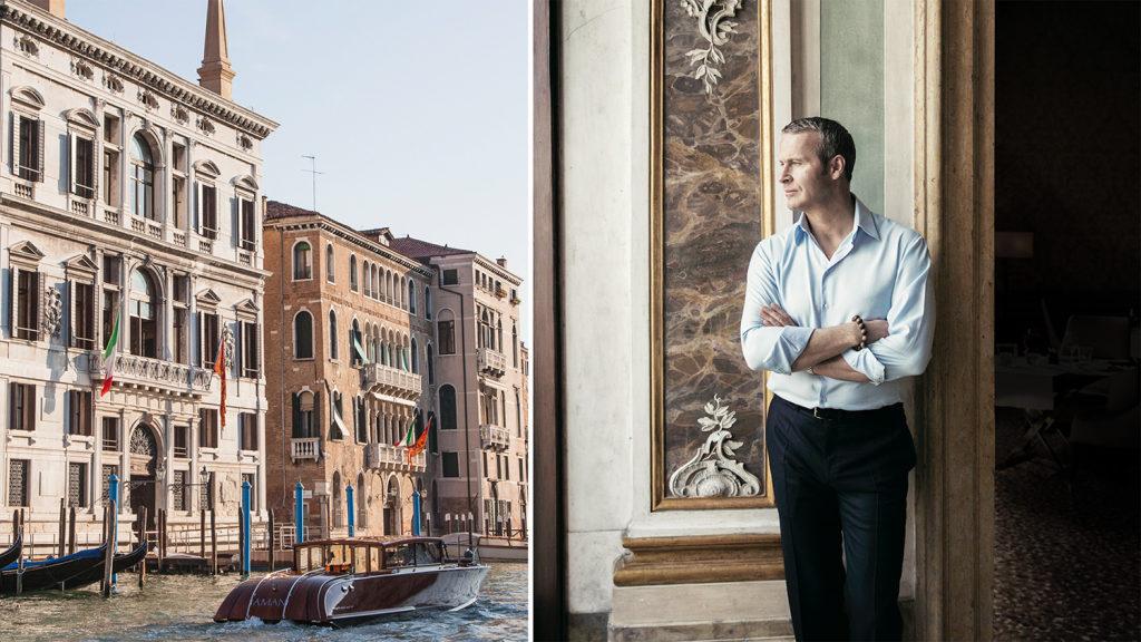 Vladislav Doronin, Chairman and CEO of Aman at Aman Venice