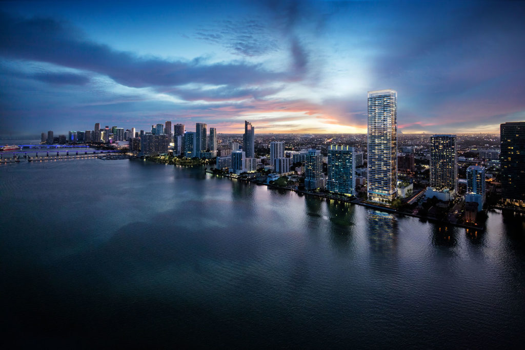 Missoni Baia Miami Residences Skyline