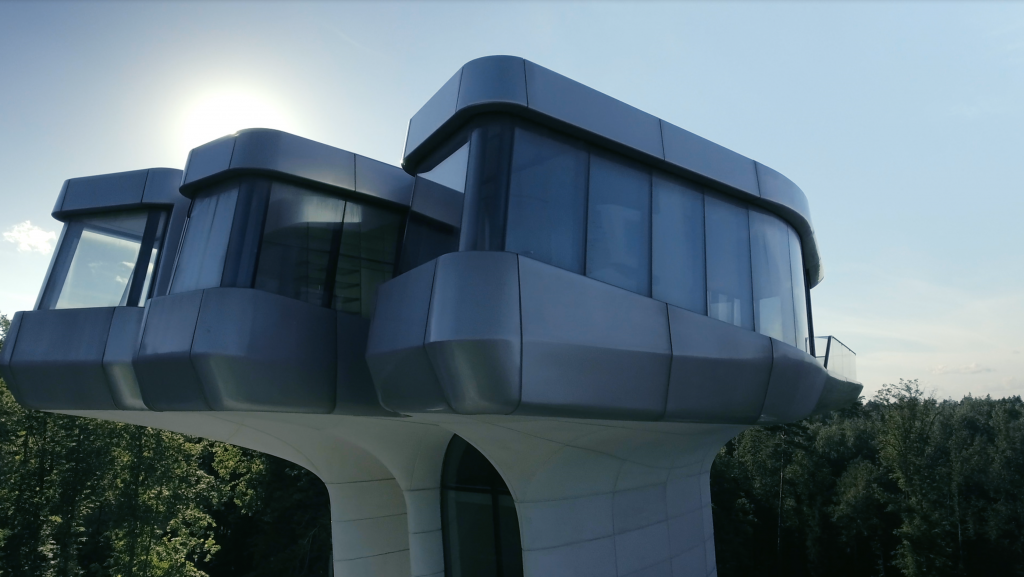 The Capital Hill Residence by Zaha Hadid commissioned for Vladislav Doronin