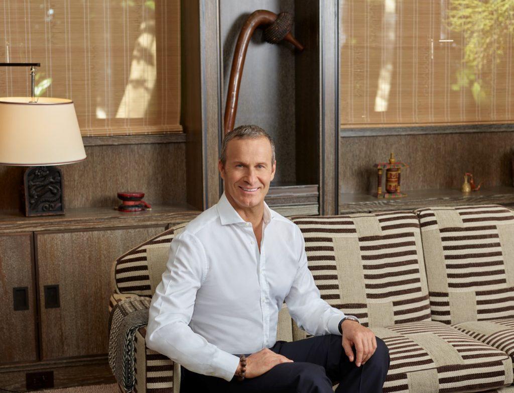 Vladislav Doronin in his Miami Office