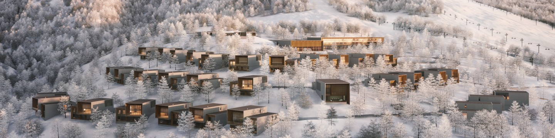 Aman Niseko Retreat and Villas Aerial