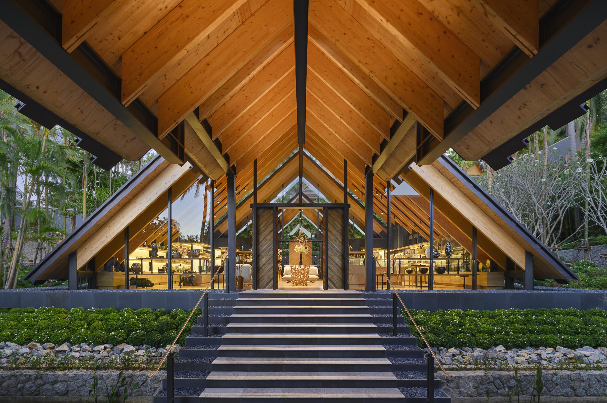 Amanpuri Retail Pavilion by Kengo Kuma