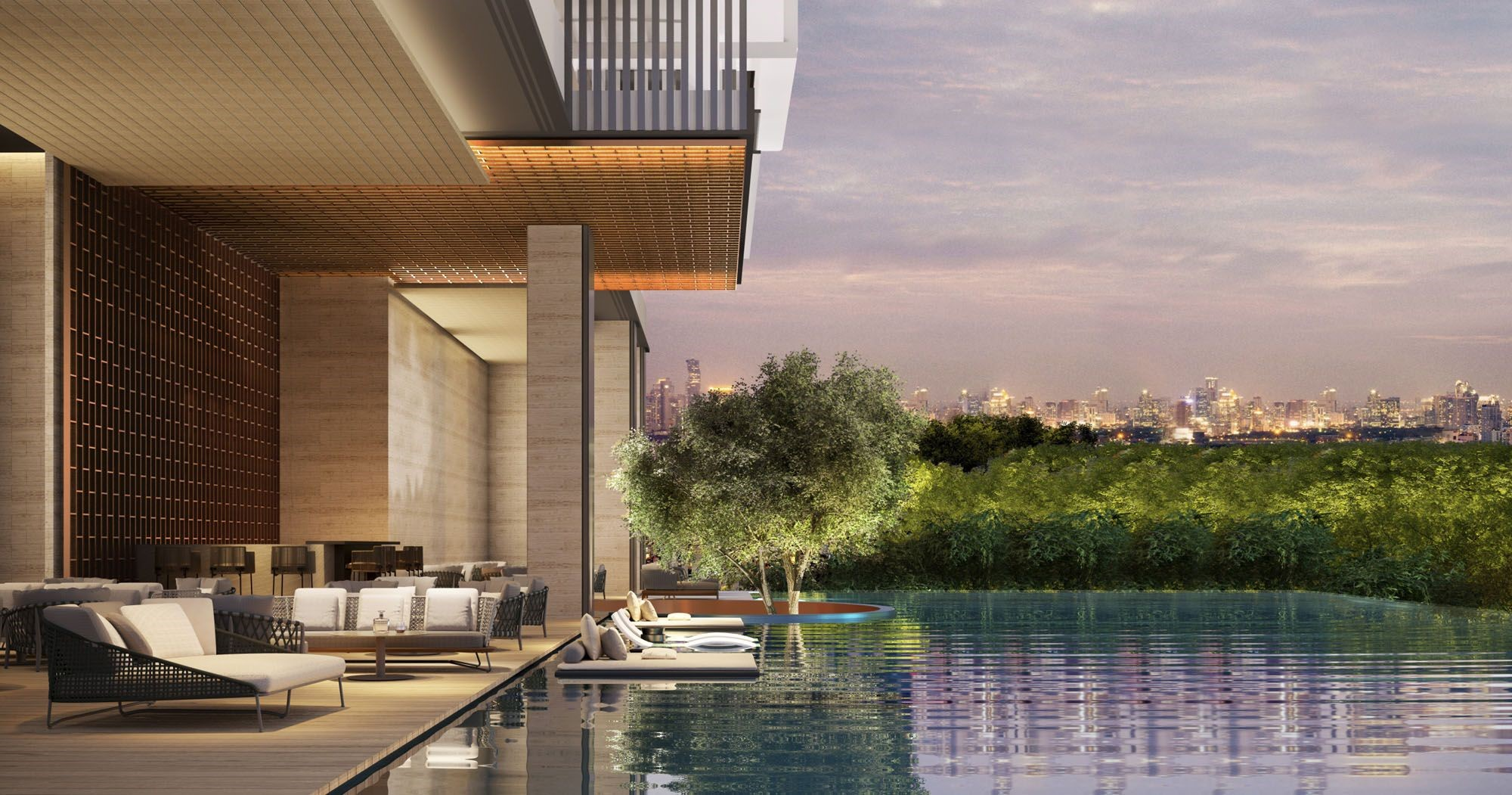 Aman Nai Lert Skyline View with Swimming Pool