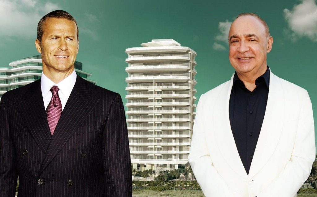 Vladislav Doronin, Len Blavatnik and renderings of the project