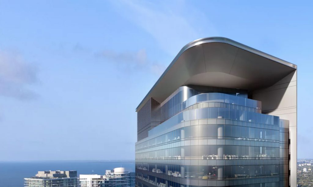 830 Brickell Miami rendering