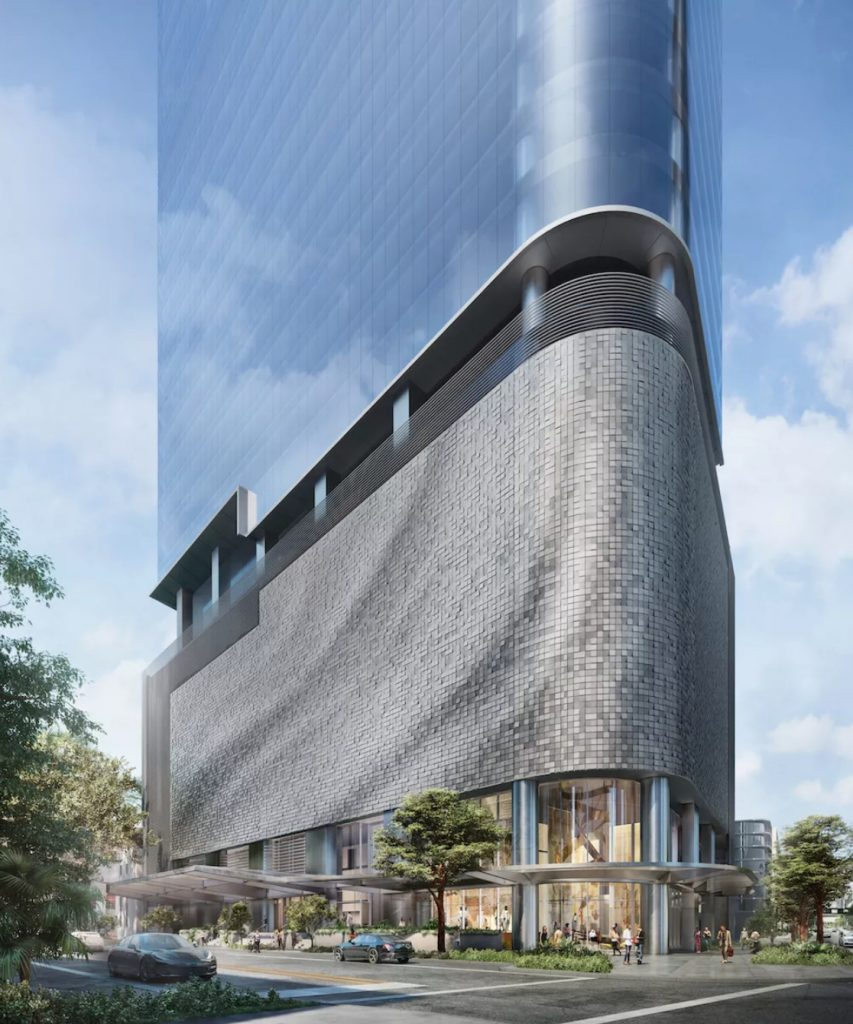 830 Brickell Miami tower rendering
